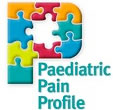 "Logo med tekst ""Paediatric Pain Profile"""