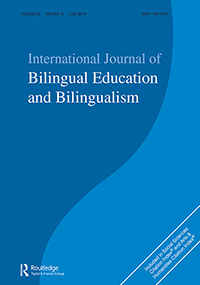 Bilde av forsiden til Journal International Journal of Bilingual Education and Bilingualism
